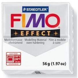 Masa Fimo Effect 56g 014 biały przezroczysty