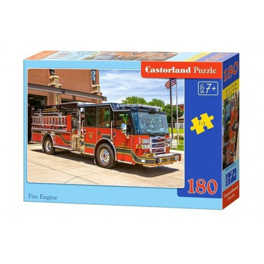 Puzzle 180 Fire Engine CASTOR