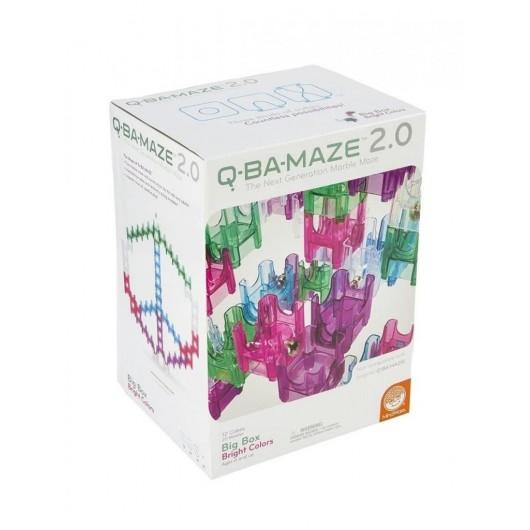 Q-Ba-Maze Big Box jaskrawe kolory 92 el