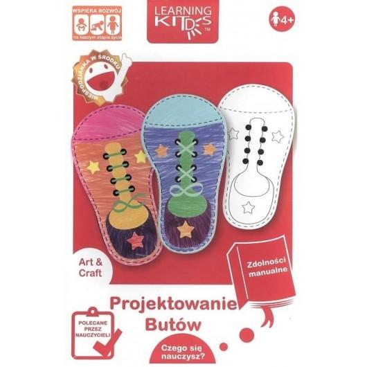 Układanka edukacyjna - Projektowanie butów