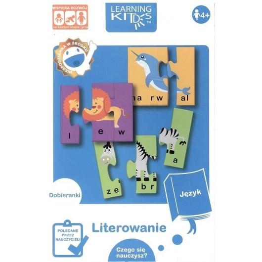 Układanka edukacyjna - Literowanie