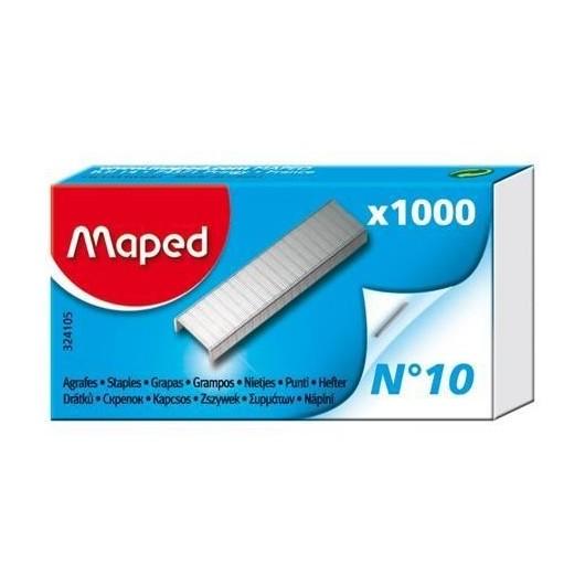 Zszywki No 10 1000szt MAPED