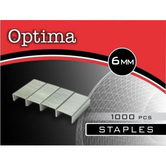 Zszywki NO.6 1000szt OPTIMA