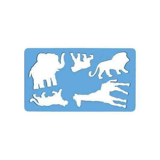 Szablon zwierząt Lew