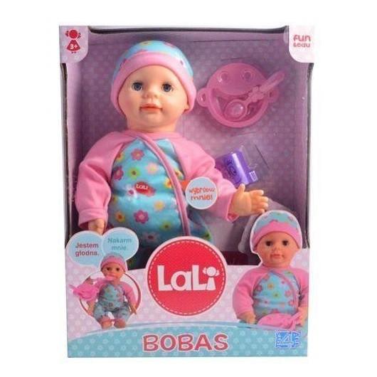 Interaktywna lalka Lali Bobas