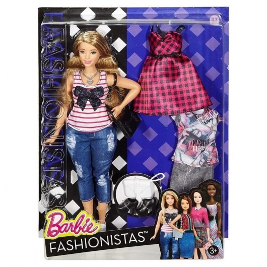 Barbie Fashionistas. Everyday Chic Curvy Blonde