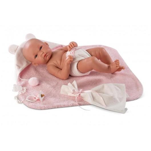 Lalka 63538 Bimba w różowym szlafroczku 35 cm