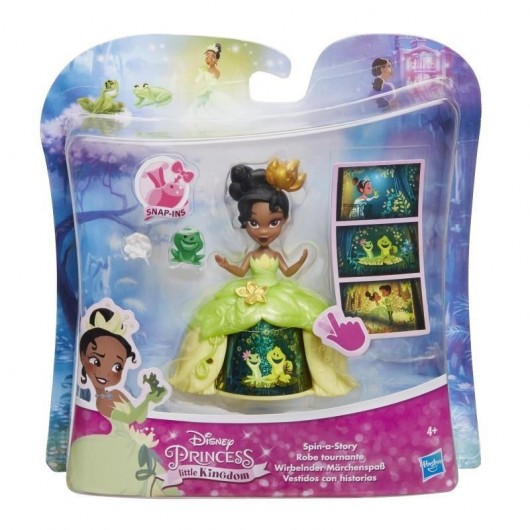 Disney Princess Mini laleczka w sukni Tiana