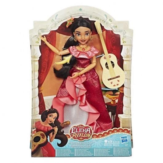Disney Elena Lalka śpiewająca z gitarą