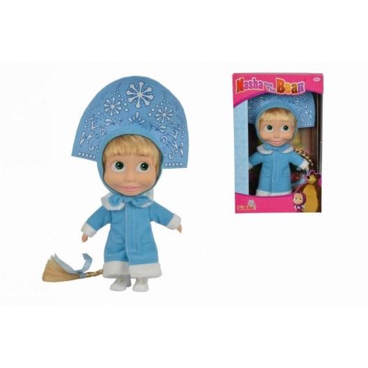 Masza i Niedźwiedź Miękka lalka zimowa