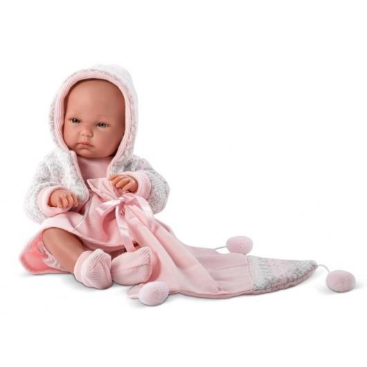 Lalka 63540 Bimba w różowej sukience 35cm