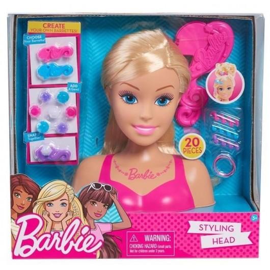 Barbie głowa do stylizacji blond II