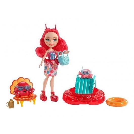 Enchantimals. Morski zestaw + lalka Cameo Crab