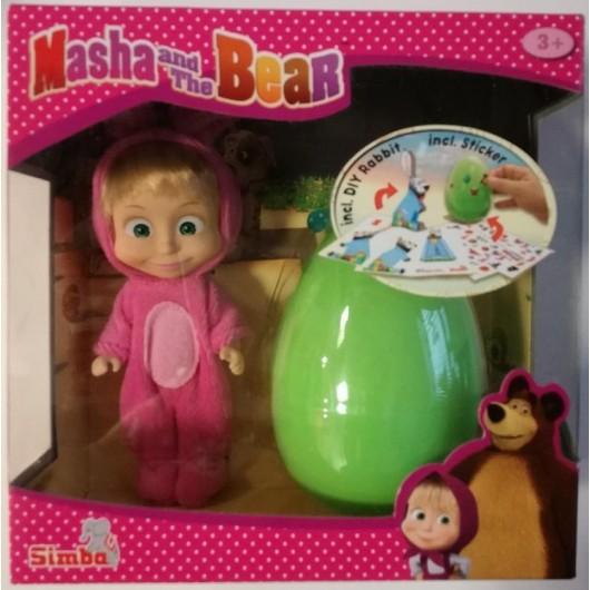 Masha i Niedźwiedź Króliczek z jajkiem