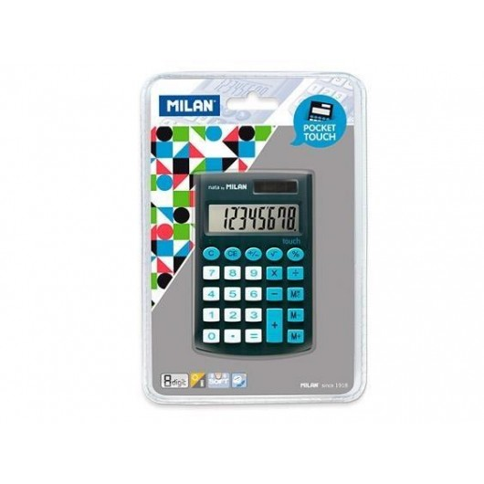 Kalkulator Pocket Touch czarny MILAN