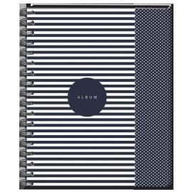 Album B5+ 30 kart czarnych