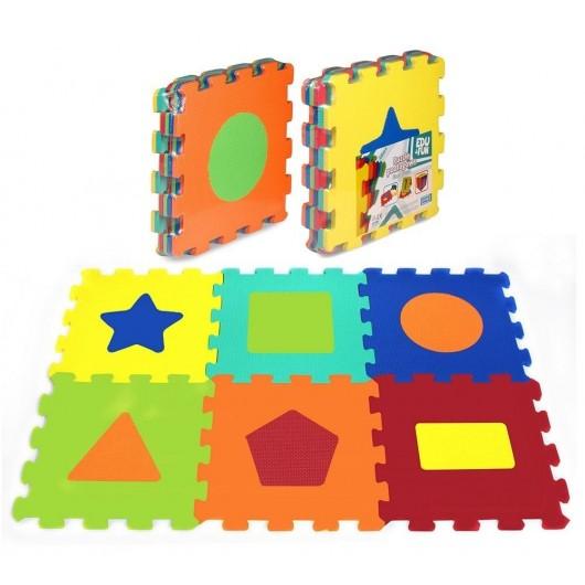 Puzzle piankowe 6 elementów Kształty