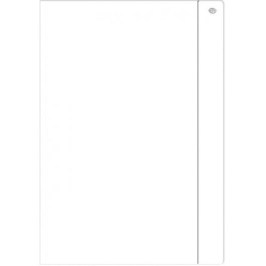 Teczka z gumką A4+ biała (10szt)