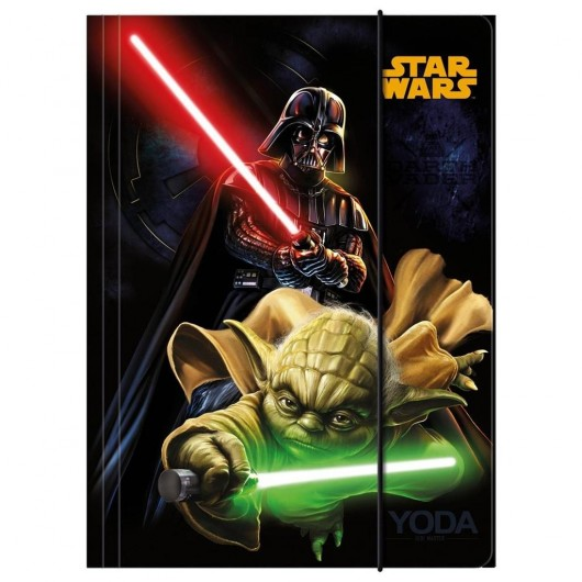 Teczka z gumką A4 Star Wars DERFORM