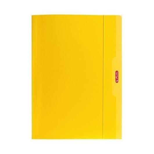 Teczka A4 z gumką żółty Color Blocking