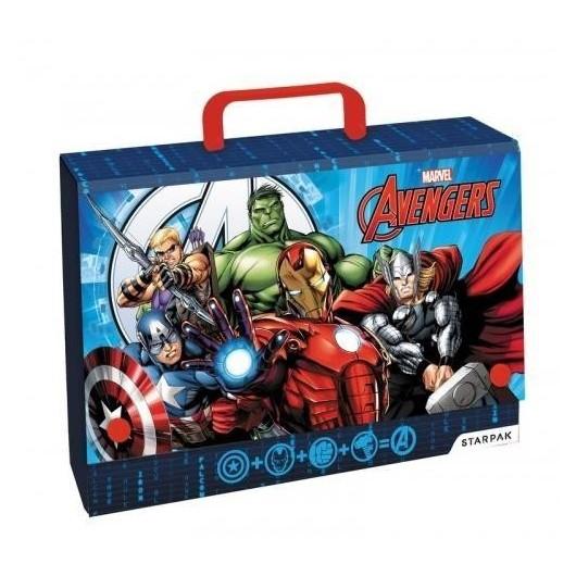 Teczka z rączką A4 Avengers