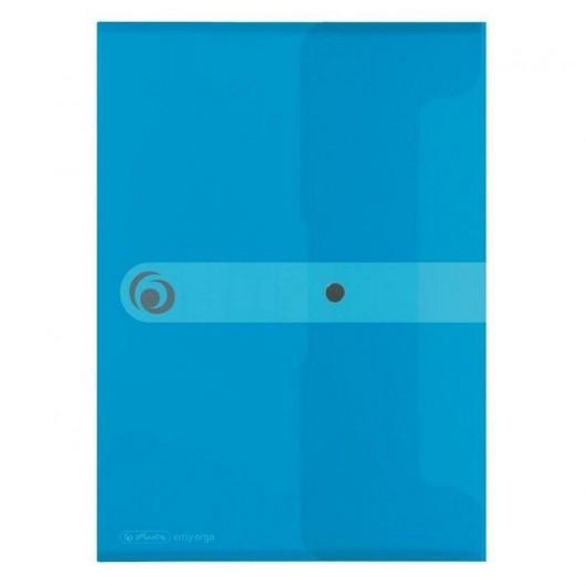 Teczka A4 PP na dokumenty Easy Orga Niebieska tran