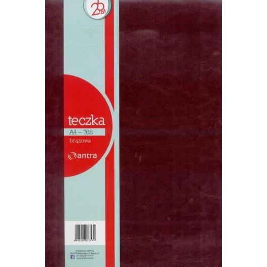 Teczka A4 708 Czerwony ANTRA