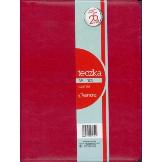 Teczka A5 705 czerwona ANTRA