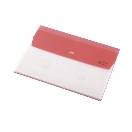 Folder A4 z 5 przegrodami Focus różowy