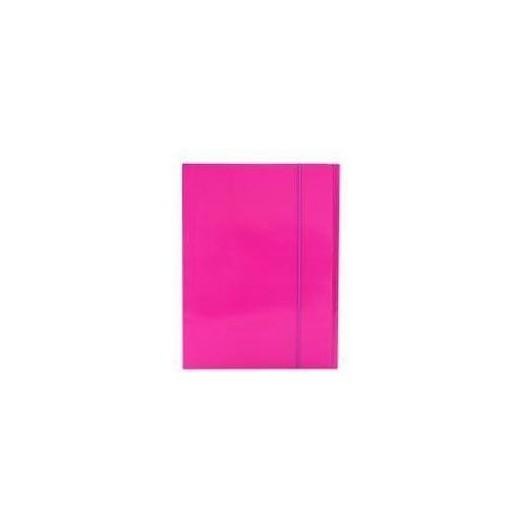 Teczka z gumką A4 Plus Top różowa PENMATE