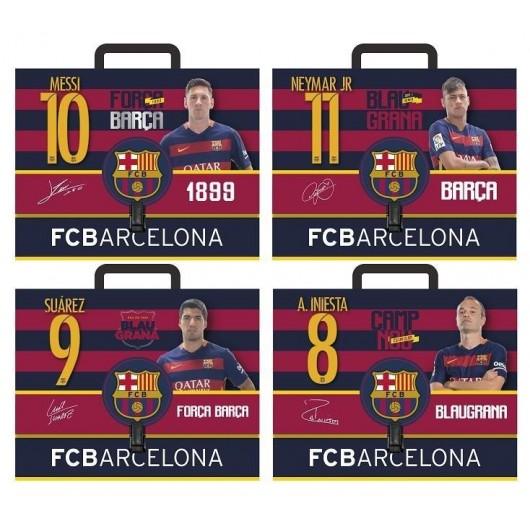 Teczka z rączką A4 twarda FC Barcelona 5 ASTRA