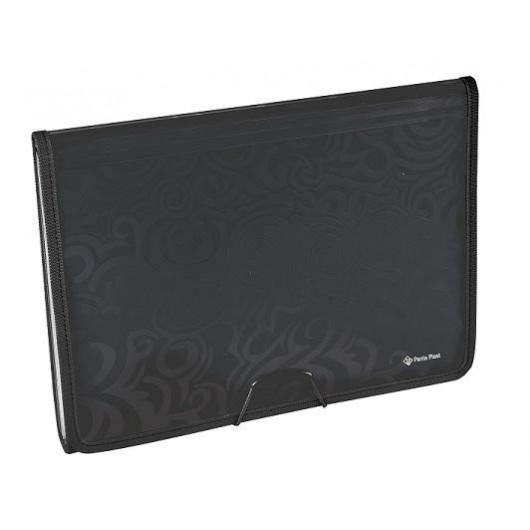 Folder A4 Tai-Chi 6 przegród TEX4315 czarny