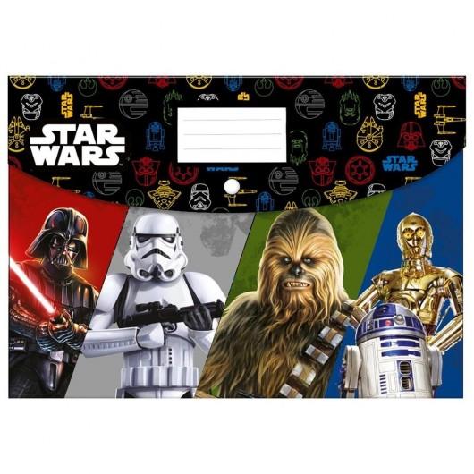 Teczka kopertowa A4 PP Star Wars 16 DERFORM