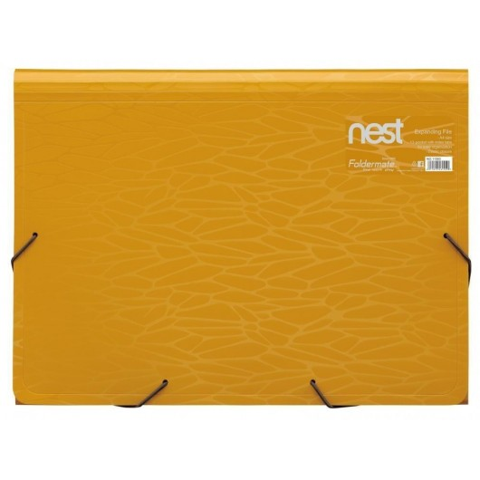 Teczka N-11099 żółta FOLDERMATE