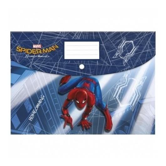 Teczka kopertowa A4 PP Spider-Man HC 10 DERFORM