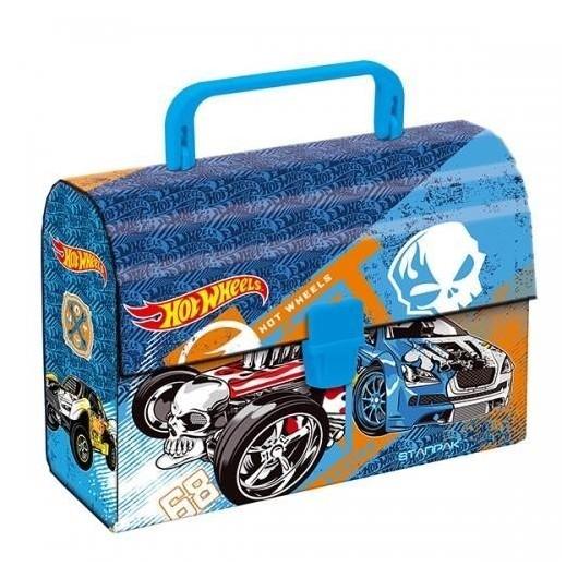 Kuferek z rączką Hot Wheels