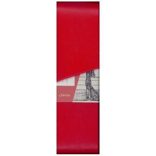 Etui na długopisy Secesja Czerwone ANTRA
