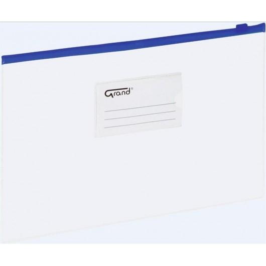 Koperta A5 na dokumenty struna niebieska GRAND