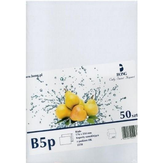Koperty białe B5 HK B/O BM (50szt)