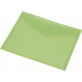 Koperta Focus C4531 A7 przezroczysta zielona
