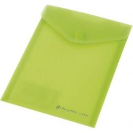 Koperta Focus C4532 A6 przezroczysta zielona