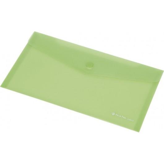 Koperta Focus C4533 DL przezroczysta zielona