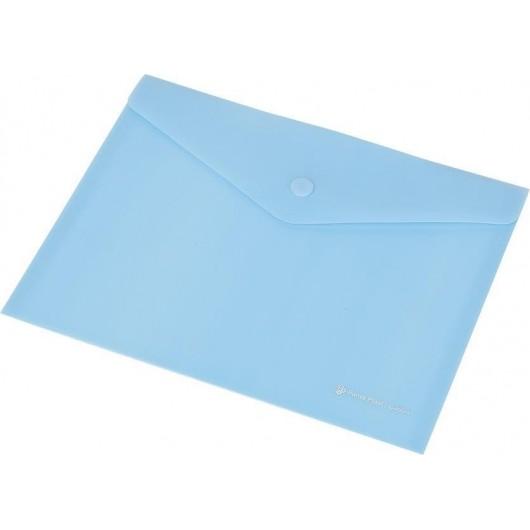 Koperta Focus C4535 A4 przezroczysta niebieska