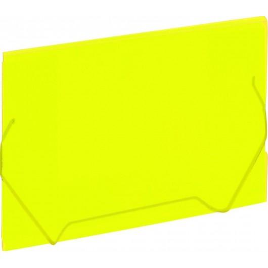 Koperta A4 na gumkę żółty GRAND