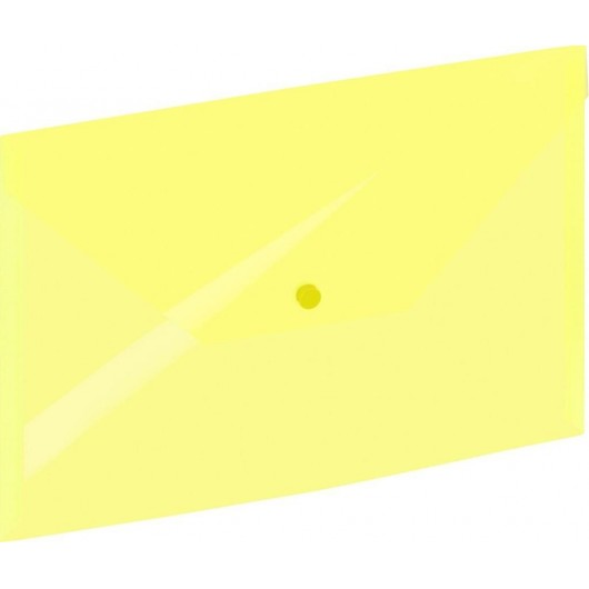 Koperta A4 na zatrzask żółta GRAND