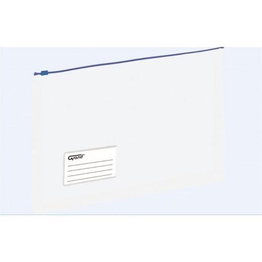 Koperta A4 na dokumenty struna niebieska GRAND
