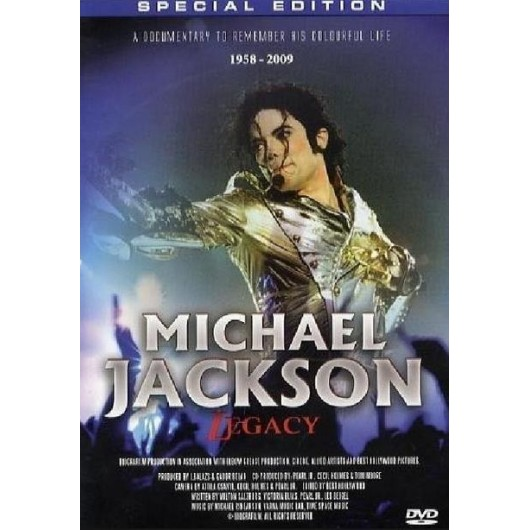 Michael Jackson - Legacy DVD