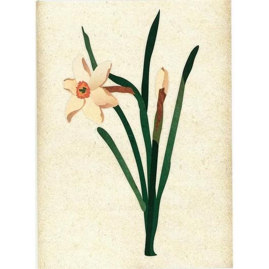 Karnet okolicznościowy. Kwiaty MIX
