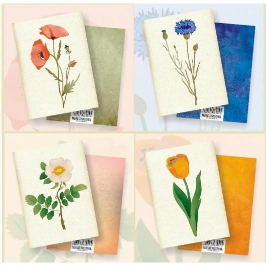 Karnety - Kwiaty MIX pakiet (20szt)