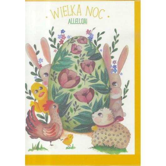 Karnet B6 Wielkanoc Pisanka